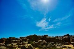 Каменный ряд Kamyana Mohyla Стоковые Фотографии RF
