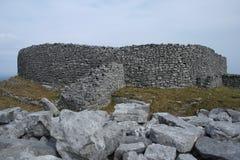Каменный серовато-коричневый цвет Eochla форта Стоковая Фотография RF