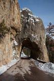 каменный тоннель Стоковое Изображение