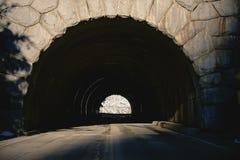 каменный тоннель Стоковые Фото