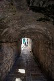 каменный тоннель Стоковые Фотографии RF
