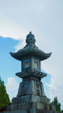 Каменный фонарик Стоковое Изображение