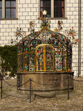 Каменный фонтан, ориентир ориентир Стоковые Изображения