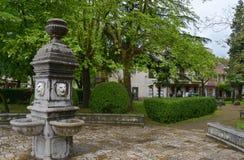 Каменный фонтан Стоковые Изображения