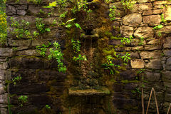 Каменный фонтан Стоковая Фотография RF