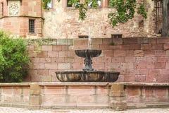 Каменный фонтан Стоковое Фото
