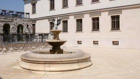 Каменный фонтан Andricgrad Visegrad видеоматериал