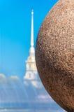 Каменный шарик Стоковое Изображение