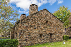 Каменный шифер дома Стоковое Изображение