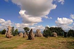 Каменный штендер; Таиланд Стоковые Фото