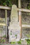 Каменный штендер Стоковая Фотография