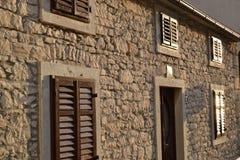 Каменный дом Стоковое фото RF