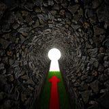 каменный keyhole Стоковая Фотография RF