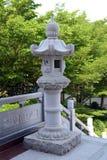 Каменный lamppost Стоковое Изображение