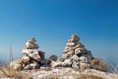 2 каменных башни Стоковые Изображения RF