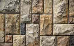 камень абстрактной предпосылки малый облицовывает стену текстуры стоковая фотография rf
