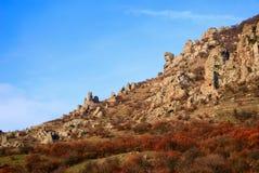 камень абстрактных гор стороны утесистый Стоковое фото RF