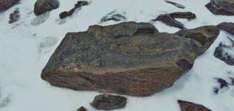 Камень белой воды стоковое изображение rf