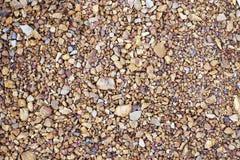 Камень Брауна маленький в предпосылке стоковое изображение