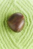 камень влажного песка Стоковая Фотография