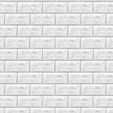 Камень выровнянный с гранитом каменная стена предпосылки Смотреть на камень Белая кирпичная стена в картине плитки метро также ве Стоковое Изображение