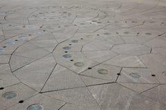 камень выстилки конструкции геометрический богато украшенный Стоковые Фото