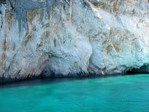Камень в воде Стоковое Фото