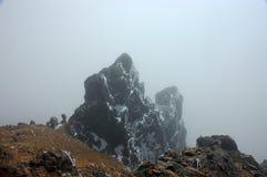 камень гололеди andes эквадора Стоковое фото RF