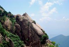 камень горы huangshan Стоковые Фотографии RF