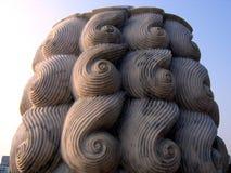 камень гривы льва Стоковое фото RF