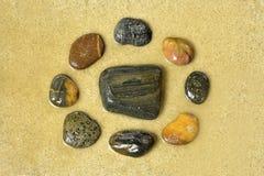 Камень Дзэн Стоковая Фотография