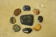 Камень Дзэн Стоковые Фотографии RF