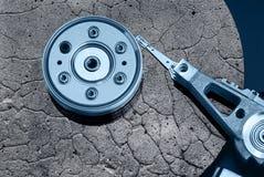 камень диска трудный Стоковые Изображения