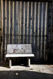 камень дороги стула Стоковая Фотография