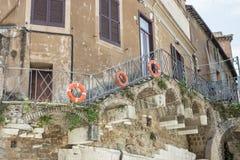 камень лестницы серии Италии старый Стоковые Изображения