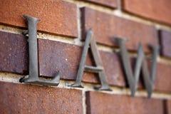 камень закона установленный Стоковое Изображение RF