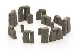 камень изолированный henge Стоковая Фотография