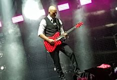 Камень кислый в концерте, Бухарест, Румыния Стоковые Фото