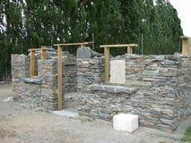 камень конструкции здания вниз Стоковые Фото