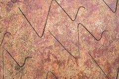 камень коричневого цвета предпосылки естественный Стоковые Фото
