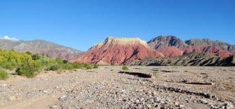 камень красного цвета горы Стоковые Фото