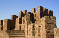 камень крепости Стоковое Фото