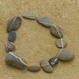 камень круга Стоковые Изображения