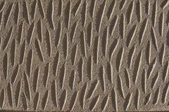 Камень крупного плана желтый с пазами для текстуры, patern или предпосылки Стоковая Фотография RF
