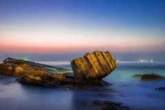 Камень кулака Стоковая Фотография RF