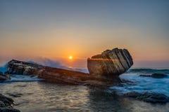 Камень кулака Стоковое фото RF