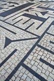 камень лабиринта Стоковая Фотография