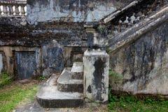 камень лестницы стоковые изображения