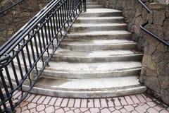 камень лестницы Стоковое Фото