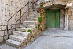 камень лестницы Стоковые Фото